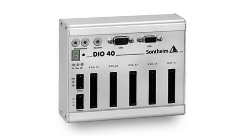 DIO40 IO module with 32 inputs and 8 outputs