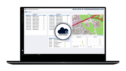 IoT Device Manager - cloud based management of all telemetry units