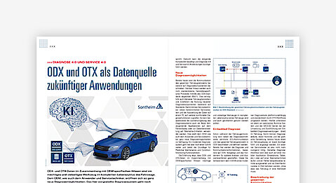 OTX and ODX as data source for future applications
