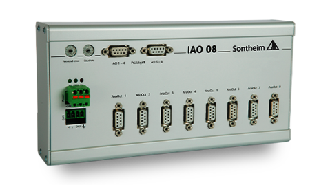 IAO08 IO module with 8 analog outputs