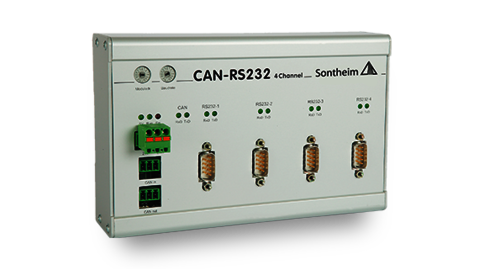 CAN-RS232 interface converter