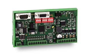 I/O module AIO16-L with 32 digital outputs and 8 analog inputs and outputs