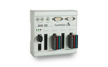 IO module DIO32 with 16 inputs and outputs each