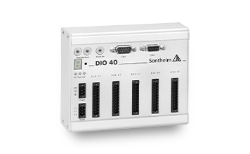 IO module DIO40 with 32 inputs and 8 outputs