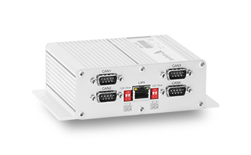 eSys-IDC4E1 - Performantes CAN-to-Ethernet Gateway mit integrierter Diagnose